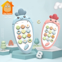 Baby Phone Toy Mobile Phone for Kids Telephone Toy Infant Early Educational Mobile Toy Chinese/English Learning Machine