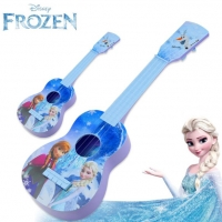 Disney frozen princess girls New Arrival Guitar Children Musical Instruments Toy blue Ukulele Guitar Education Birthday Gifts