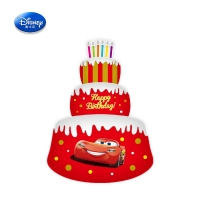 Disney Genuine Inflatable Toys Minnie Balloons boys car mickey Aluminum foil toys DBCY34 inch three-layer cake car toy
