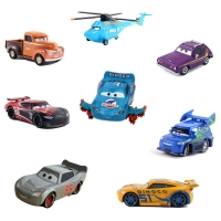 Disney Pixar 38 Style Cars 3 New Lightning McQueen Jackson Storm Smokey Diecast Metal Car Model Birthday Gift Toy For Children's
