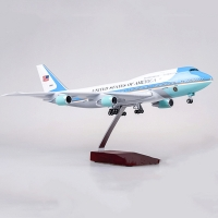 47CM 1:150 Scale Airplanes American Air Force One Boeing B747 Model resin Diecast Aircraft Plane Model Collectible display Gifts