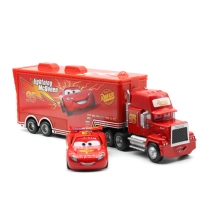 Disney Pixar Cars 2 3 No.95 Lightning McQueen Mack Truck Uncle Diecast Toy Car 1:55 Loose Brand New In Stock & Free Shipping