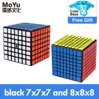 MoYu meilong 6x6x6 7x7x7 8x8x8 Cube Magic MofangJiaoshi 4x4 5x5 6x6 7x7 8x8 Speed Puzzle cubo Magico Educational Toys Children