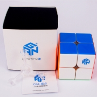 GAN249 V2 M Magnetic 2x2x2 magic cube GAN 249 V2M puzzle cube 2x2 Magnetic speed cube GANS cubo magico