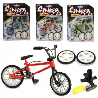 Mini Finger BMX Bicycle Kit Finger Bikes Toys Accessories Tool BMX Bicycle Model Tech Deck Gadgets Novelty Gag Toys