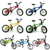Alloy Mini Finger BMX Bicycle BMX Bicycle Model Finger Bikes Toys Bike TechDeck Gadgets Novelty Gag Toys For Kids