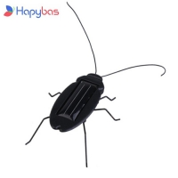 4 PCS/LOT wholesale Solar cockroach Insect Bug Moving Toy, Lovely Mini Solar toy free shipping