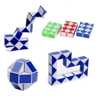 1pcs Deformation Stress Relief Cube Stress Reliever Fun Toys Stress Rainbow Strange Shape Puzzles