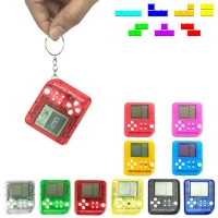 2018 Retro Mini Matchbox Tetris Kids Console Game Console Game Players LCD Portable Built-in 26 Games Random Color
