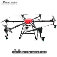 X6-16 Agricultural Plant Protection UAV 16kg Agriculture machinery Spraying drones