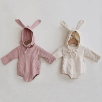 Rabbit Baby Clothes Girl Romper Baby Spring Clothes Newborn Long Sleeve Boys Jumpsuit Baby Girl Clothes Infant Onesie Costume