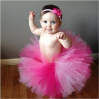 9 Colors Baby Girl Tulle Tutu Skirt Newborn Photography Props Multicolor Baby Tutu Skirt Birthday Party Gift