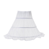VOGUEON Girls Petticoat Kids 2-3 hoops Accessory Girl Crinoline Underskirt for Evening Wedding Dress Half Slip Princess Costume