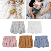 2019 Baby Boy Girls Cotton Shorts Infant Ruffle Bloomers Toddler Summer Panties