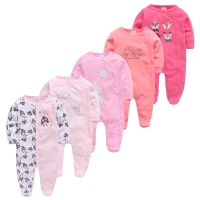 5pcs Baby Pyjamas Newborn Girl Boy Pijamas bebe fille Cotton Breathable Soft ropa bebe Newborn Sleepers Baby Pjiamas