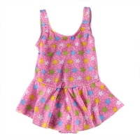 Baby Girl print One Piece Swimsuit Swimwear Bikini Bathing Suit Tutu  Floral Print