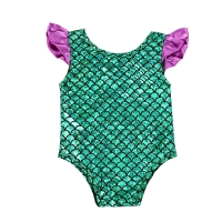 Baby Girl Bodysuit Bikini Toddler Infant Baby Girls Mermaid  Swimsuit Swimwear Swimming Bikini Baby Girl Clothes
