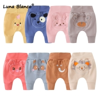 3-24M Boy thick Pants Winter baby Thicken Cotton Boy Baby big PP pants Loose high Elastic waist Autumn pants Fall boy trousers