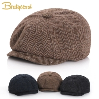 New Baby Hat for Boys Vintage Newsboy Kids Cap Baby Boys Hat Autumn Winter Baby Cap for Boy Children Hats 52/54