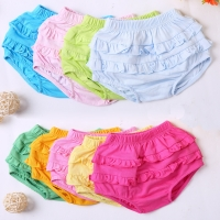Baby shorts lace pants boys and girl's boxers baby summer soft and thin baby children pants stripes and solid colors shorts