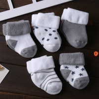 5Pairs/lot Infant Baby Socks Summer Baby Socks for Girls Cotton Newborn Boy Toddler Socks Baby Clothes Accessories