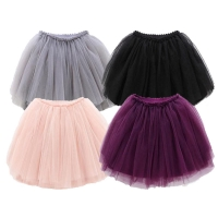 Baby Girls TuTu Skirts Fluffy Kids Ball Gown Pettiskirts 12 Colors Tutu Skirt Toddler Girl Princess Dance Party Skirt 12M-10Y