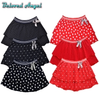 2019 Fashion Cute Baby Girls Summer Tutu Skirts Star Dot Stripe Print Princess Girls Ballet Dancing Party Skirt Cotton Clothing