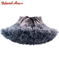 Sweet Children Girls Tutu Skirts for Kids Baby Tutus Ballet Pettiskirts Princess Girl Ball Gown skirt Dance Wear Party Clothing