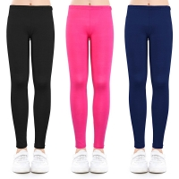 Candy Colors Girls Leggings Baby Girl Pencil Pants Modal Ankle-length Leggings Skinny Legging for 2-13 Years Kids Clothes
