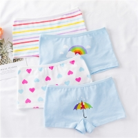 4 Pcs/lot Baby Briefs Panties Children Underwear Baby Cotton Fashion Design Panties  Cute Underpants Children Clothing