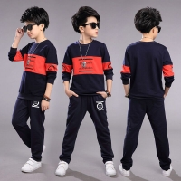 Teen Children Clothes 3-11year Boys Costume Tracksuit Camouflage Tops Pants 2PCS Children Spring Outfits Set