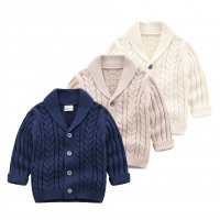2020 New Handsome Baby Boys Knitting sweaters children's clothing Cardigan Baby Spring Autumn Outfit Coat Costumes  Kids jacket