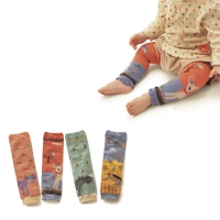 Animal Print Baby Leg Warmers Socks Kids Safety Crawling Elbow Cushion Infants Toddlers Baby Knee Pads Leg Warmers SK109