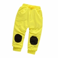 Fashion Baby Boys Girls Cotton Pants Spring Summer Children Patch Sweatpants Toddler Casual Trousers Kids Clothes 1-5 Years