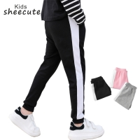 sheecute Kids sports pants boys girls training jogger pants chindrens running trousers YD501