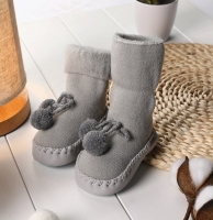 Girls Baby Socks Shoes Bed Indoor Walking Toddlers Girl Boy Casual First Walkers Winter Skid Resistance Infant