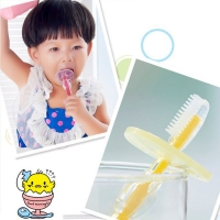 1pc Silicone Kids Teether Training Toothbrushes For Children Baby Toothbrush Infant Newborn Brush Tool