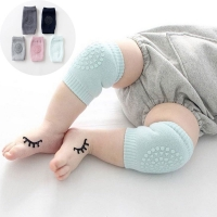 2020 One Pair New Baby Kids Safety Crawling Elbow Cushion Infants Toddlers Knee Safety Pads Protector Soft Wholesale