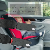Car Child Safety Seat Interface latch Child Seat Connecting Belt Fixing Band Auto accessories 2019 New