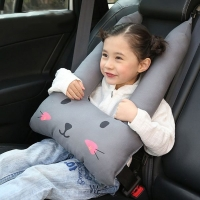 Baby Safety Strap Cartoon Car Sefety Seat Car Seat Belts Pillow Protect Child soft Seat belt Shoulder Safe Fit Seat Belt