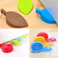 3 PCS/LOT High Quality Baby Care Safety Door Stopper Protecting Product Children Kids Safe Leaves & Snails Baby Corner Protector