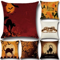 hot sell Halloween pillow covers for sofa cat sofa Car Pillow Cover Print creative pillowCase Home Decor  pillow case PP54