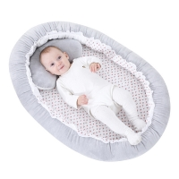 Portable Crib Folding Newborns Cots Nursery Sleep Nest Infant Cradle Baby Bassinet Children's Bed Carry Cot Baby Nest Bed