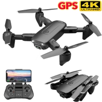 F6 GPS Drone 4K Camera HD FPV Drones with Follow Me 5G WiFi Optical Flow Foldable RC Quadcopter Professional Dron