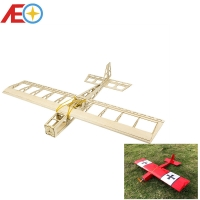 Balsawood Mini Airplane Model Mini Stick 580mm Wingspan Laser-cut Airplane Models RC Building Toys Woodiness model /WOOD PLANE