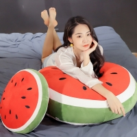 3 extra large software simulation watermelon filled fruit pillow home sofa decoration toy cushion creative fruit gift