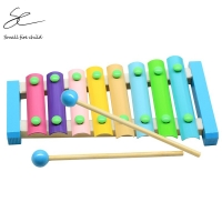 NEW Eight-tone Music Instrument Toy Wooden Frame Style Xylophone Children Kids Musical Funny Toys Baby Educational Toys Gifts