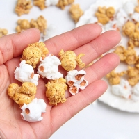 10 Pcs/lot Charms Popcorn Grain Slime Accessories Addition Slime Supplies  DIY Decoration for Slime Filler Miniature Kid Toy