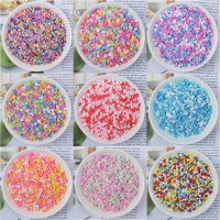 DIY 100g Slime accessories Clay Sprinkles decoration For Slime Filler Supplies Fake chocolate Cake Dessert Mud Particles Toys