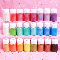 Glue For Slime Powder Pigment DIY Lizun Toys Children Clay Cloud Slime Supplies Pearl Mica Pigment Charms Slime Additives Decor